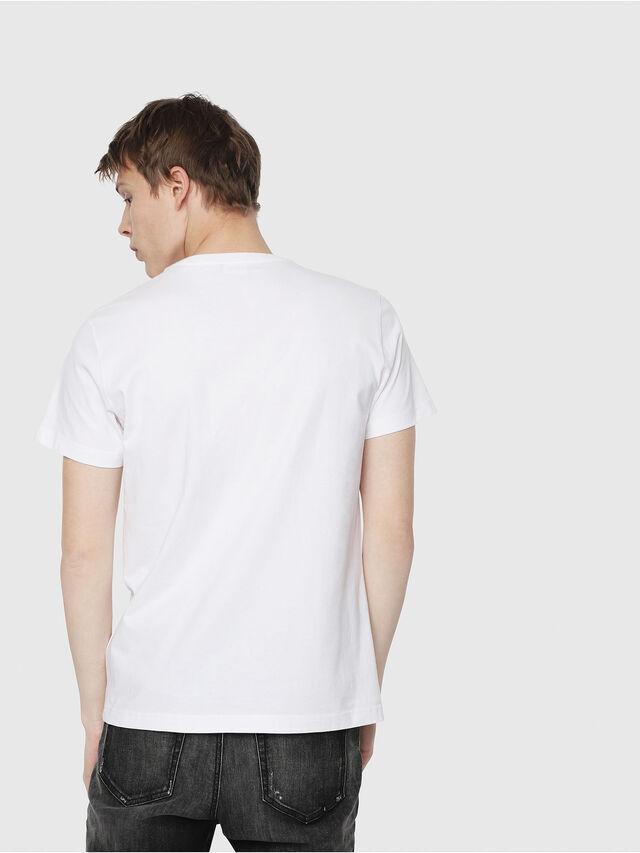 Diesel - T-DIEGO-Y2, Blanc - T-Shirts - Image 2