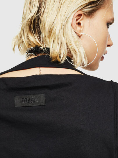 Diesel - T-KALY, Noir - T-Shirts - Image 4