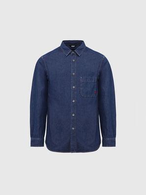 D-BILLY, Bleu Foncé - Chemises en Denim