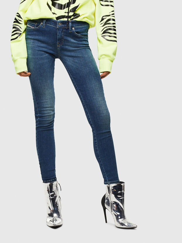 Slandy 069KW, Bleu Foncé - Jeans