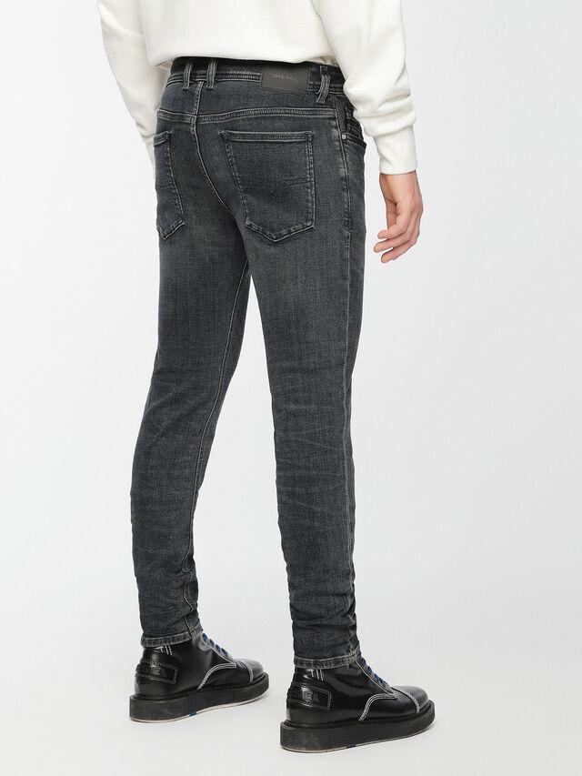 Diesel - Sleenker 084VQ, Noir/Gris foncé - Jeans - Image 2