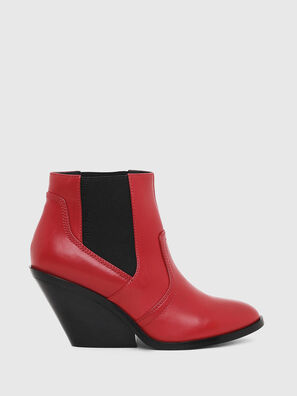 D-FLAMINGO CB, Rouge - Bottines