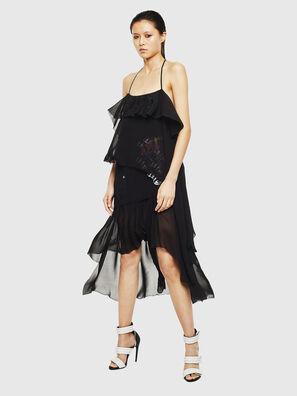 D-FREY, Noir - Robes