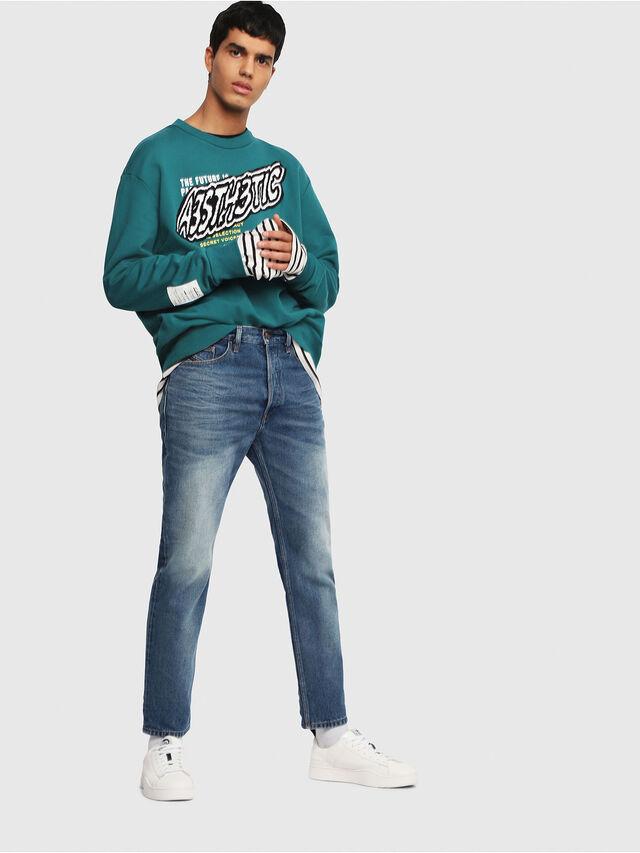 Diesel - D-Aygle 0076Y, Bleu moyen - Jeans - Image 5