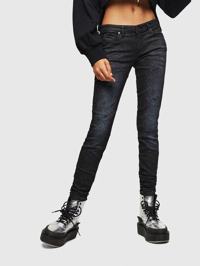 Diesel - Gracey JoggJeans 069GP, Noir/Gris foncé - Jeans - Image 1
