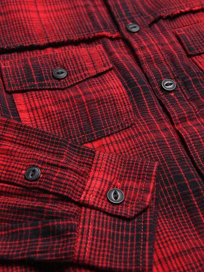 Diesel - CMILLERPATCH, Rouge - Chemises - Image 3