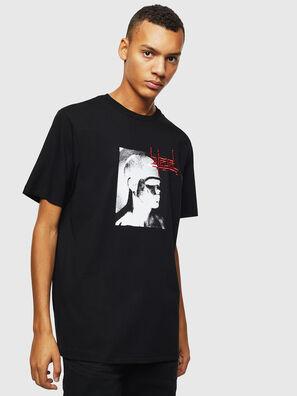 T-JUST-J21, Noir - T-Shirts