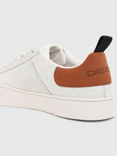 Diesel - S-CLEVER LOW LACE, Blanc/Brun - Baskets - Image 4