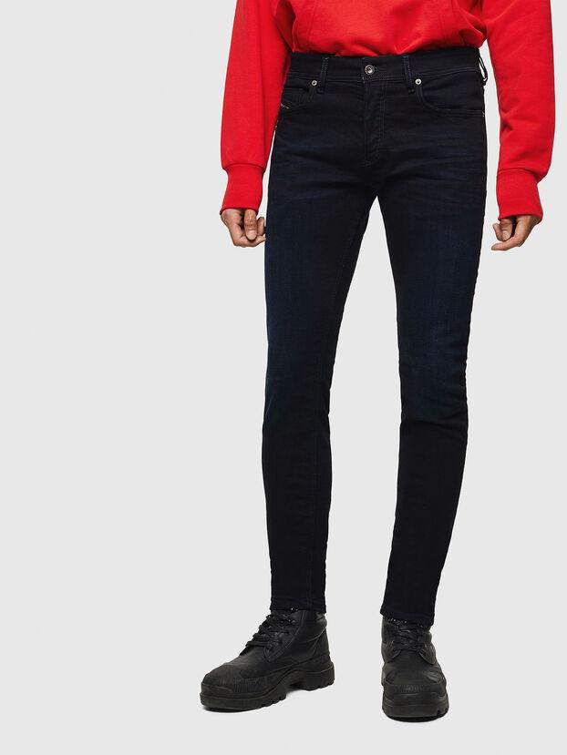 Sleenker 0095X, Bleu Foncé - Jeans