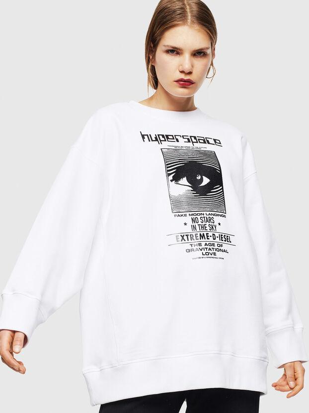 F-AKUA, Blanc - Pull Cotton