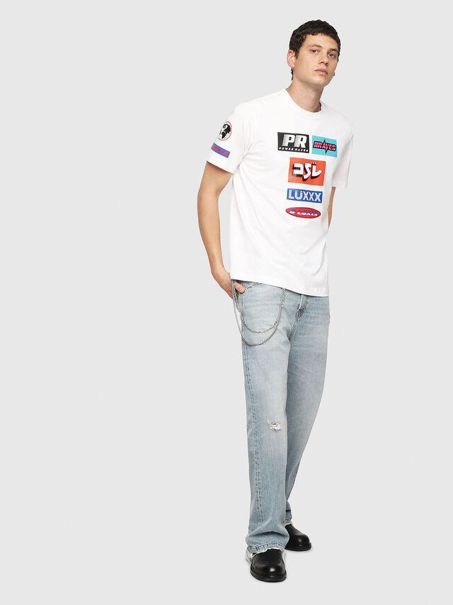 Diesel - T-JUST-YA, Blanc - T-Shirts - Image 5