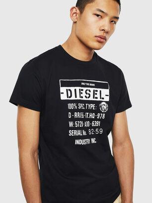 T-DIEGO-S1, Noir - T-Shirts