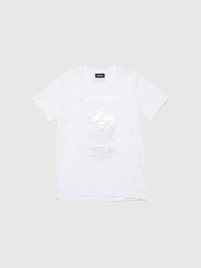 Diesel - TSILYYBJ, Blanc - T-shirts et Hauts - Image 1