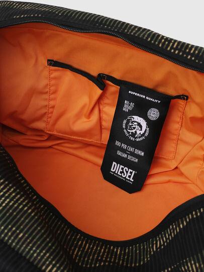 Diesel - M-CAGE DUFFLE M, Noir/Vert - Sacs de voyage - Image 6