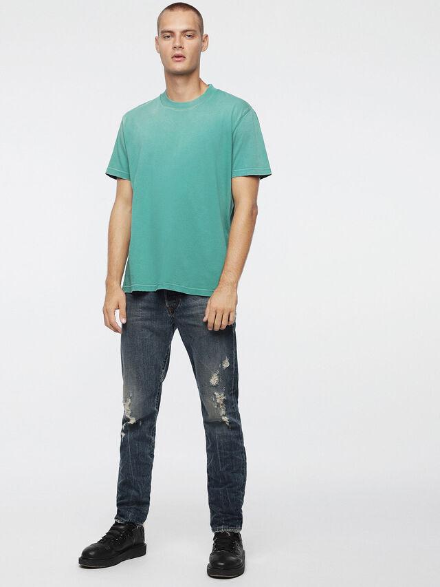 Diesel T-JOEY-T, Vert d'Eau - T-Shirts - Image 4