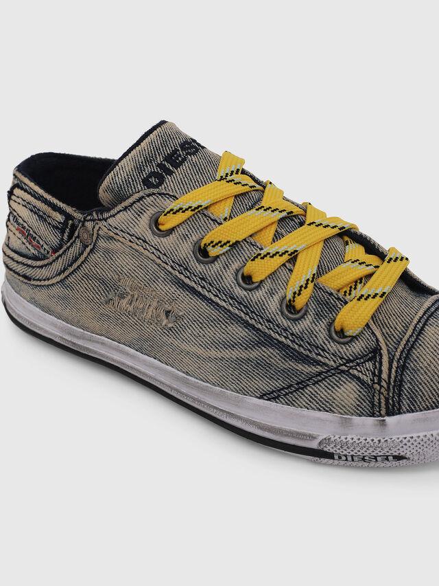 Diesel - SN LOW LACE DENIM 13, Jean Gris - Footwear - Image 4