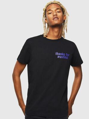 T-DIEGO-J20, Noir - T-Shirts
