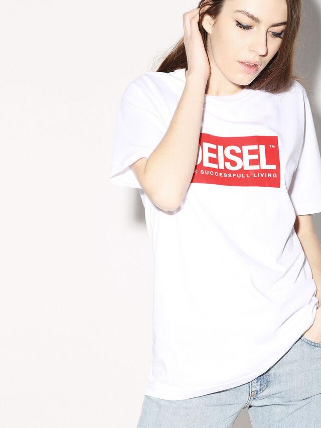 Diesel - DEIS-JUST, Blanc - T-Shirts - Image 6
