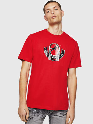 T-JUST-B1, Rouge Flamme - T-Shirts
