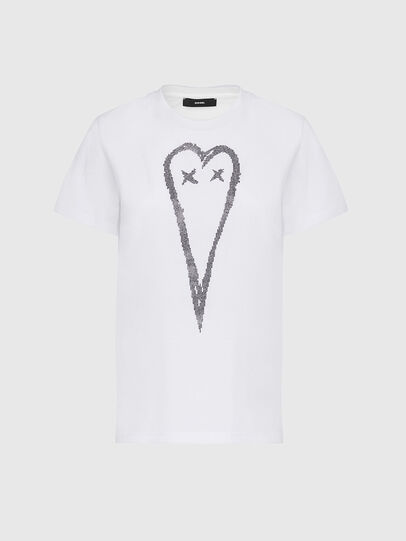 Diesel - T-SILY-E53, Blanc - T-Shirts - Image 1