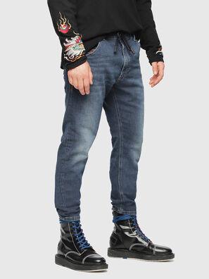 Krooley JoggJeans 084UB, Bleu moyen - Jeans