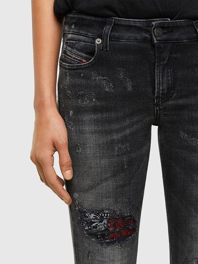 Diesel - D-Jevel 009JN, Noir/Gris foncé - Jeans - Image 3