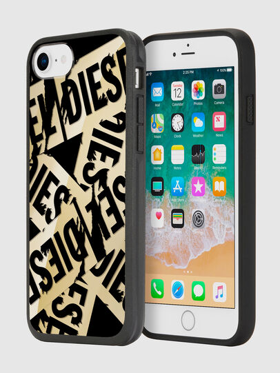 Diesel - MULTI TAPE GOLD/BLACK IPHONE 8/7/6S/6 CASE,  - Coques - Image 1