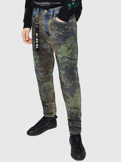Diesel - D-Vider 0078E, Bleu moyen - Jeans - Image 5