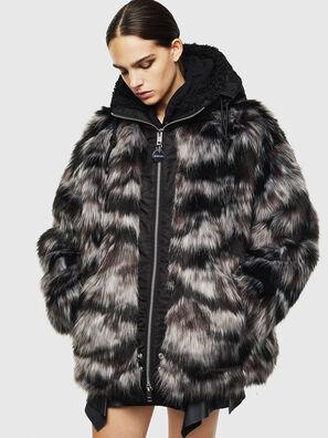 L-ALYA, Noir - Vestes de cuir