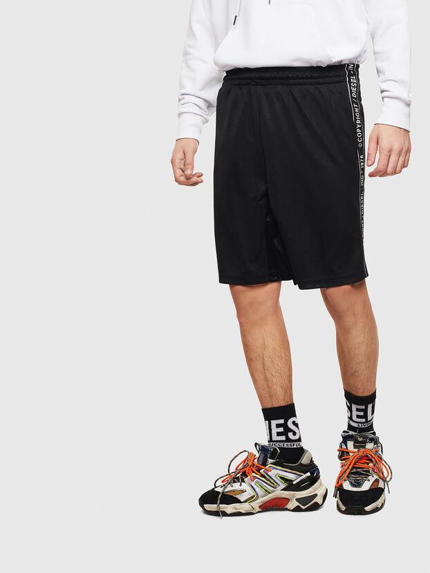 P-HITOSHI-S1, Noir - Shorts
