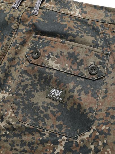 Diesel - D-ONT-HURT-ME, Vert Camouflage - Pantalons - Image 5