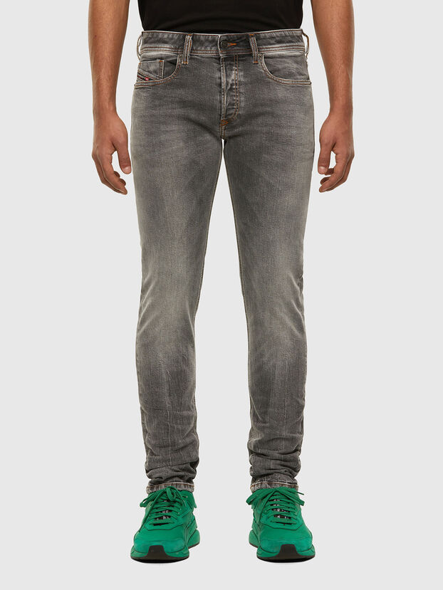 Sleenker 009FW, Gris Clair - Jeans