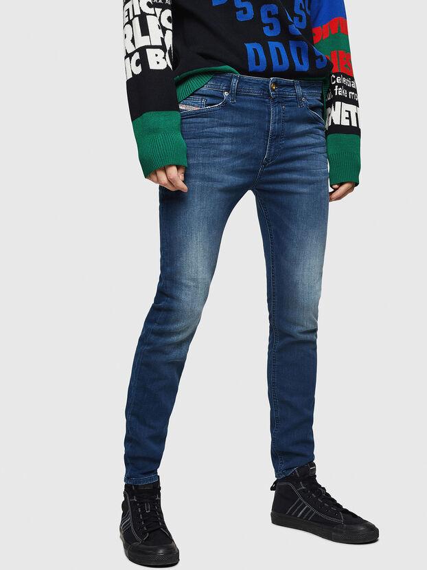 Spender JoggJeans 069HC, Bleu Foncé - Jeans
