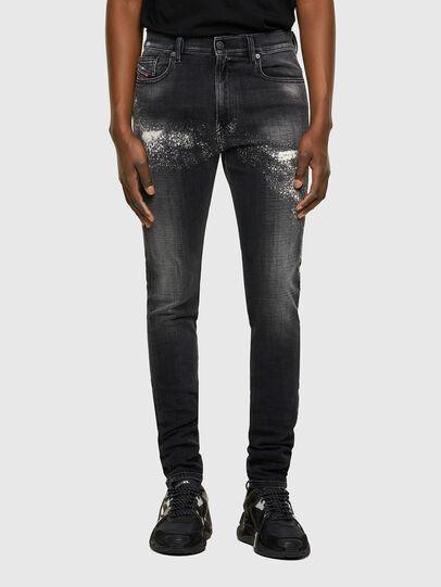 Diesel - D-Amny 009QW, Noir/Gris foncé - Jeans - Image 1