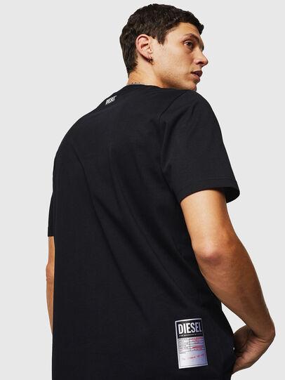 Diesel - T-JUST-B26, Noir - T-Shirts - Image 2
