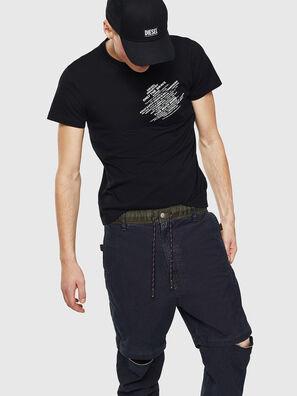 T-WORKY-S1, Noir - T-Shirts