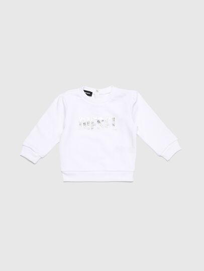 Diesel - SRALLYB, Blanc - Pull Cotton - Image 1