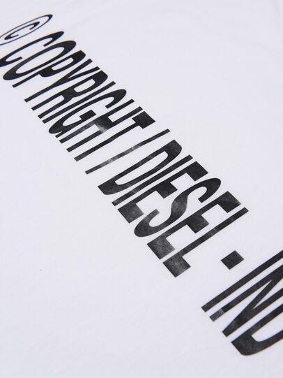 Diesel - TILCOPY, Blanc - T-shirts et Hauts - Image 3