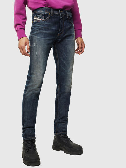 Diesel - Thommer 0096U, Bleu Foncé - Jeans - Image 1