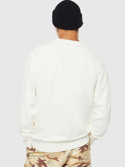 Diesel - S-GIRK-WORK, Blanc - Pull Cotton - Image 3