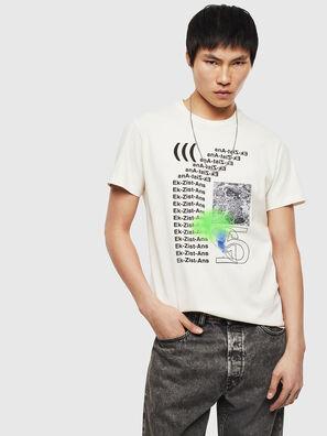 T-DIEGO-S11, Blanc - T-Shirts