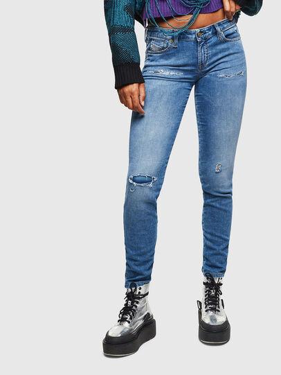 Diesel - Gracey JoggJeans 069IH, Bleu Clair - Jeans - Image 1