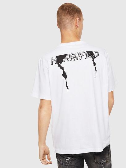 Diesel - T-JUST-J21, Blanc - T-Shirts - Image 2