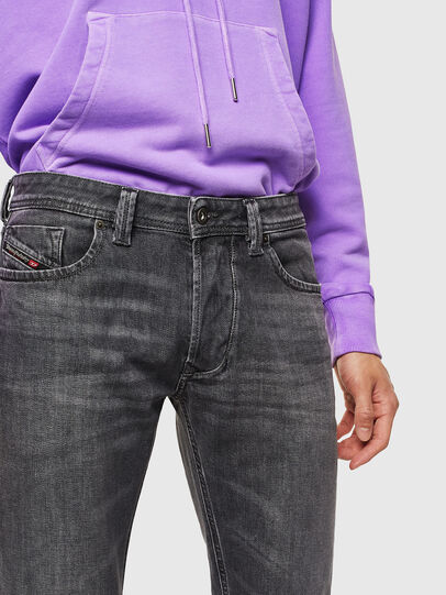 Diesel - Larkee 0095I, Noir/Gris foncé - Jeans - Image 3