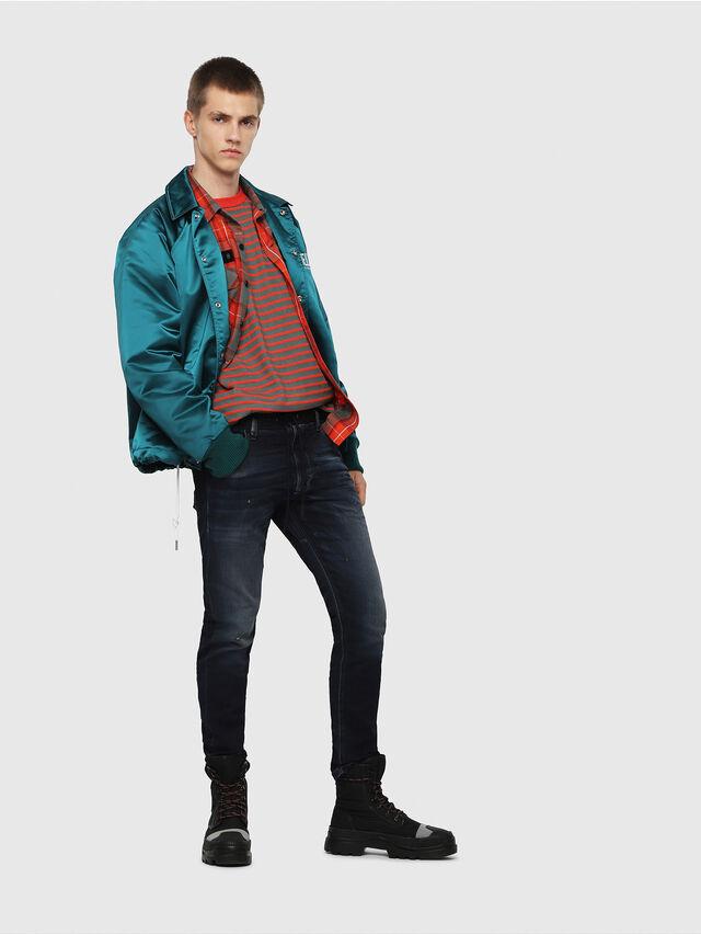 Diesel - Krooley JoggJeans 069DQ, Bleu Foncé - Jeans - Image 5