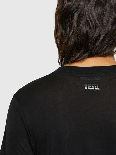 Diesel - T-SILY-V26, Noir - T-Shirts - Image 3
