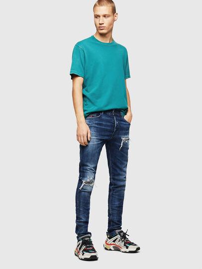 Diesel - Tepphar 0090G, Bleu Foncé - Jeans - Image 6