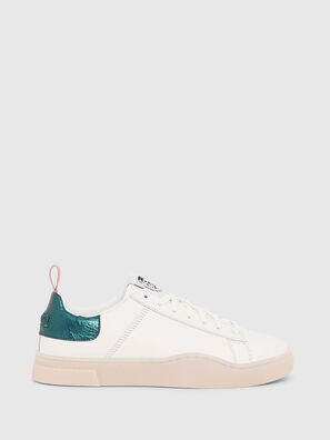S-CLEVER LOW LACE W, Blanc/Vert - Baskets
