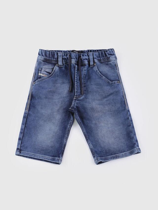 Diesel - KROOLEY SH JOGGJEANS J, Jean Bleu - Shorts - Image 1