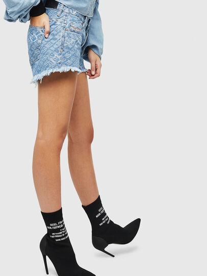 Diesel - DE-RIFTY, Bleu Clair - Shorts - Image 5
